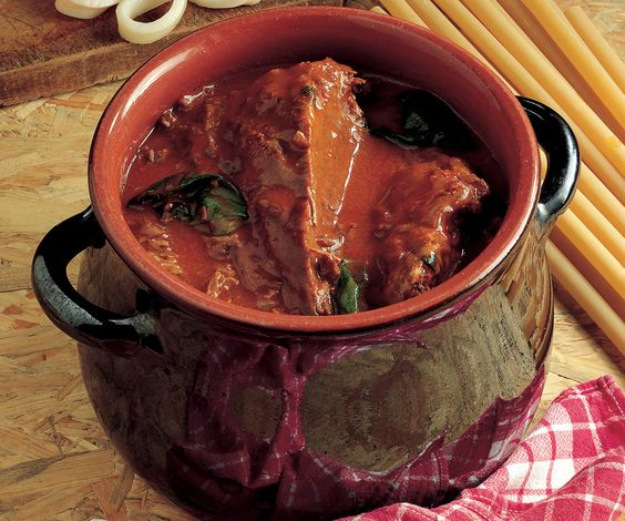 Рецепты мясных блюд: рагу по-неаполитански