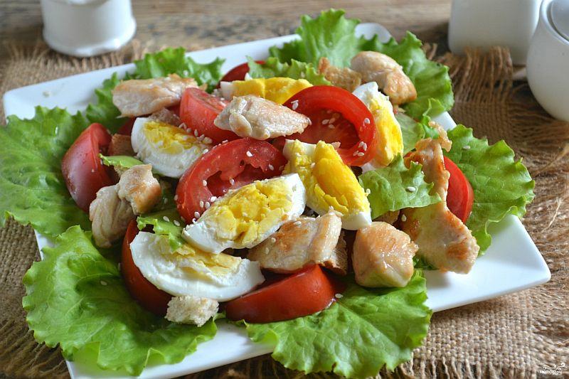 """Популярнейший итальянский салат """"Цезарь"""""""