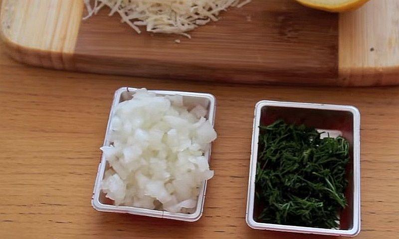 Ингредиенты спагетти с креветками и сливками